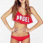 Angel Wings Flutter Top Bikini