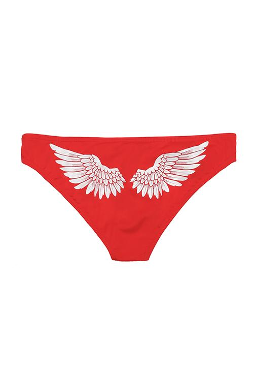 Angel Wings Bikini Bottom-FLAT