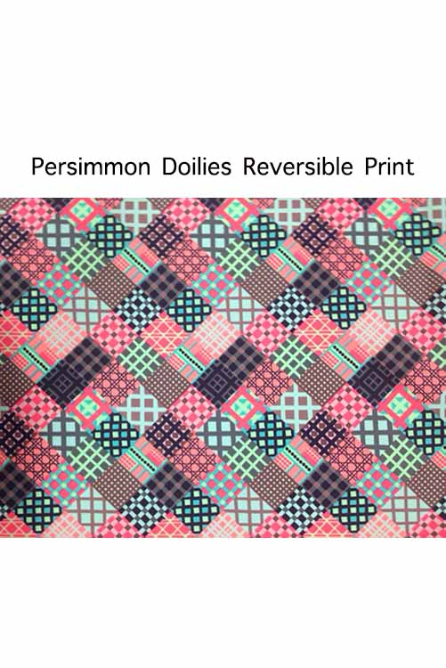 Persimmon Doilies Bottom REVERSE PRINT