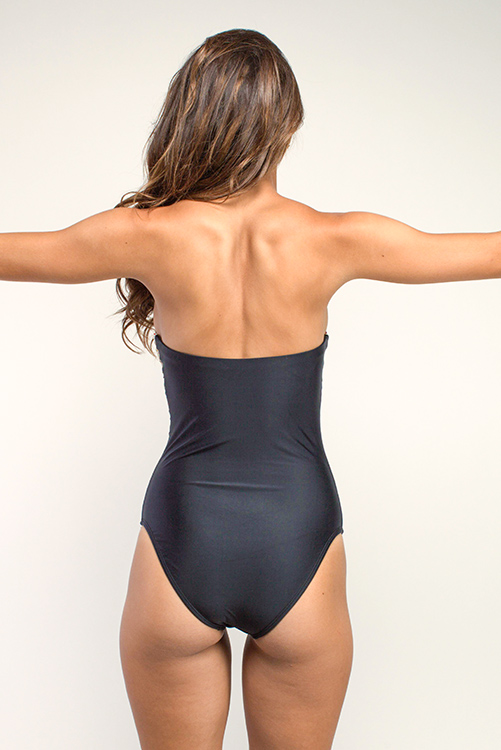 San Sebastian Embroidered One Piece BACK