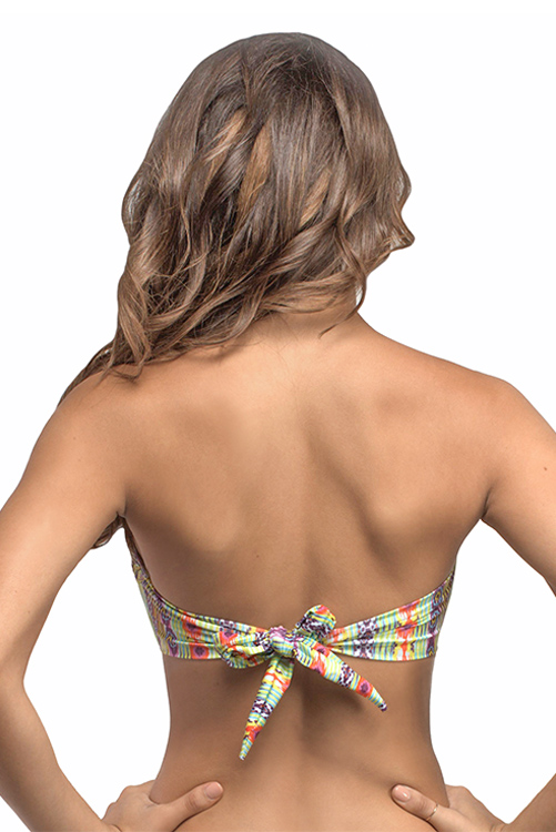 Sunbeam Embroidered Bandeau BACK