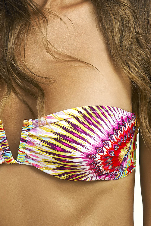 Sunbeam Embroidered Bandeau DETAIL