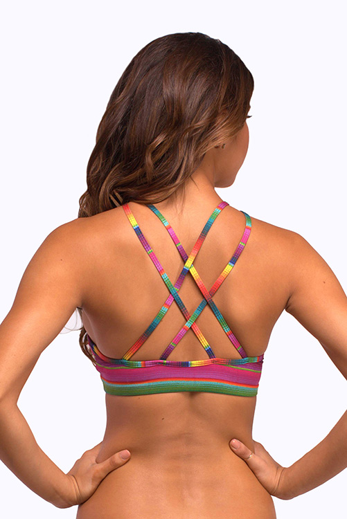 Maya Gypsy Halter Bikini Top BACK