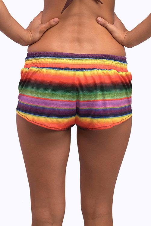 Maya Cali Shorts BACK