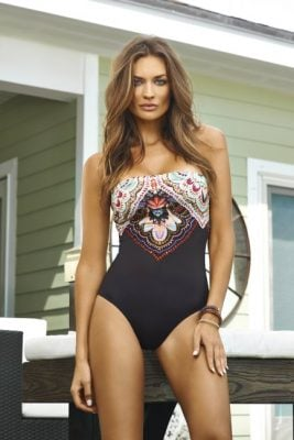San Sebastian Embroidered One Piece