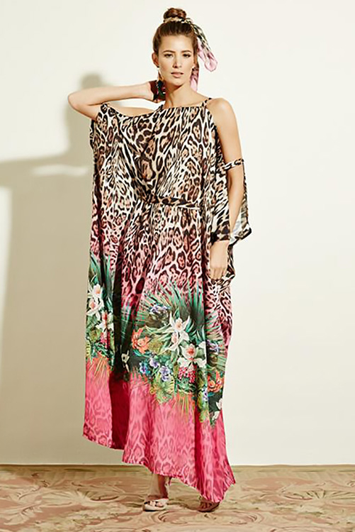 Savage Garden Kaftan Dress ALT
