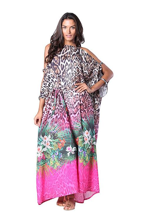 Savage Garden Kaftan Dress