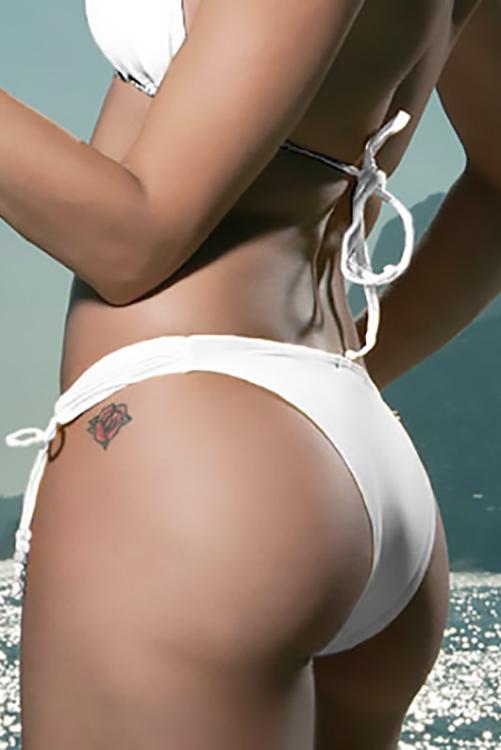 White Vintage Bottom BACK