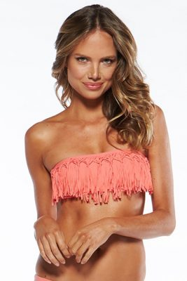 Dolly Knotted Fringe Bandeau