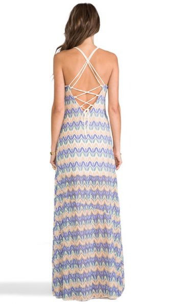 Sunchaser Maxi Dress BACK