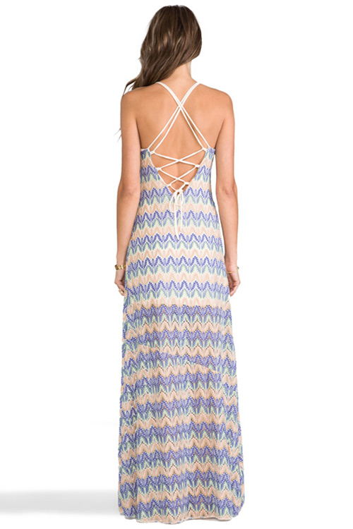 Sunchaser Maxi Dress BACK