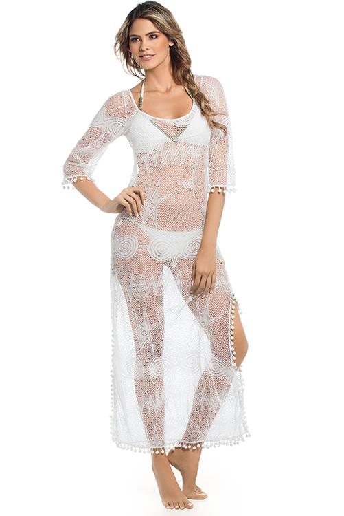 Mar de Espuma Cover Up Dress ALT