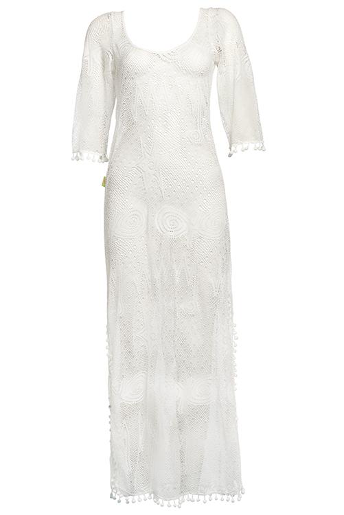 Mar de Espuma Cover Up Dress ISOLATED