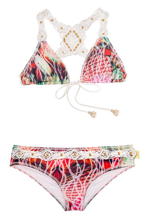 Mar de Medusa Bikini FLAT