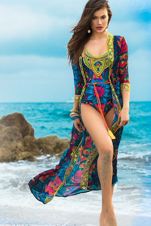 Peces del Mar Cover Up