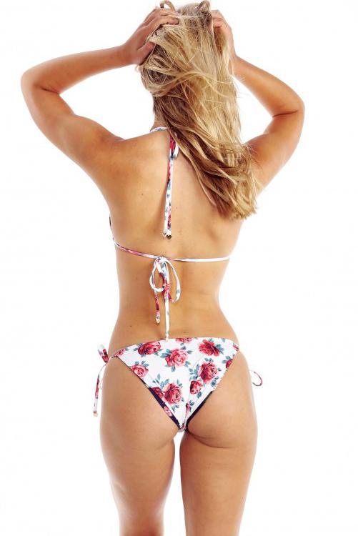 Gypsy Flowers Reversible Bikini REVERSED