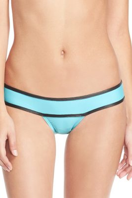 Dreamy Blue Banded Bottom