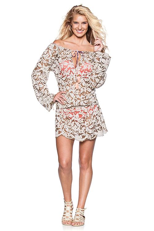 Surreal Love Short Dress