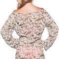Surreal Love Short Dress ALT-BACK