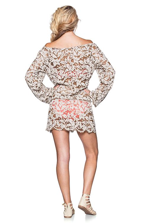 Surreal Love Short Dress BACK