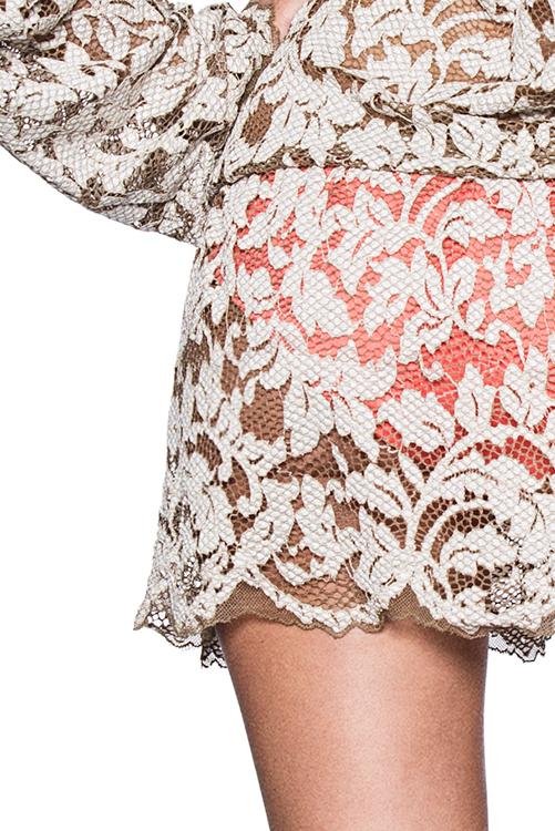 Surreal Love Short Dress BACK-DETAIL