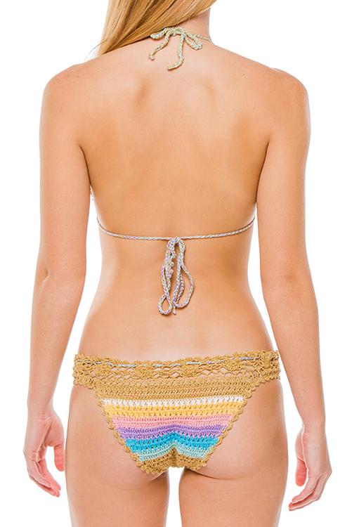 Romance Crochet Bikini BACK