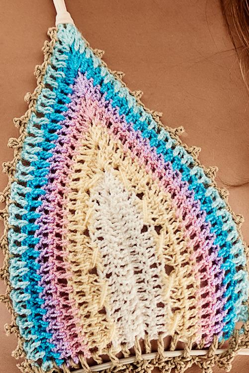 Romance Crochet Tri DETAIL