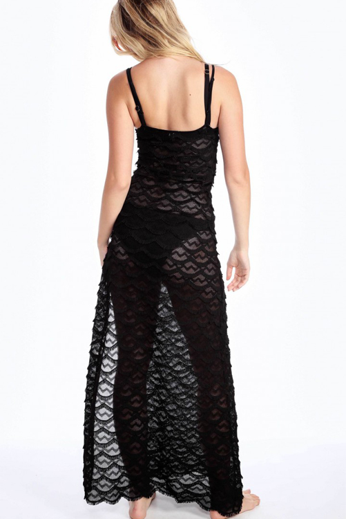 Sea Maiden Maxi BLK-BACK