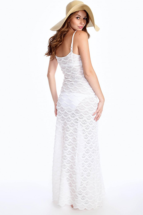 Sea Maiden Maxi WHT-BACK