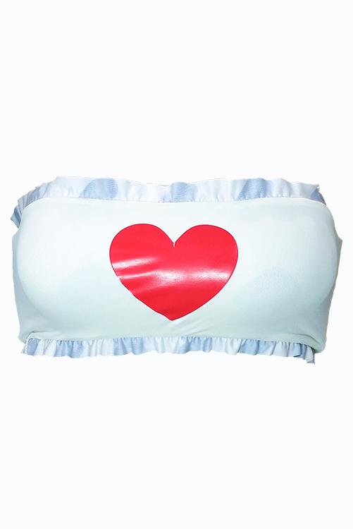 Vintage Hearts Bandeau ISOLATED