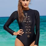 Midnight Long Sleeve One Piece