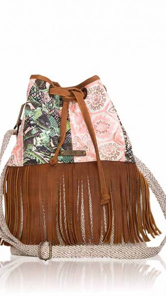 Fringe Medium Bag FRONT