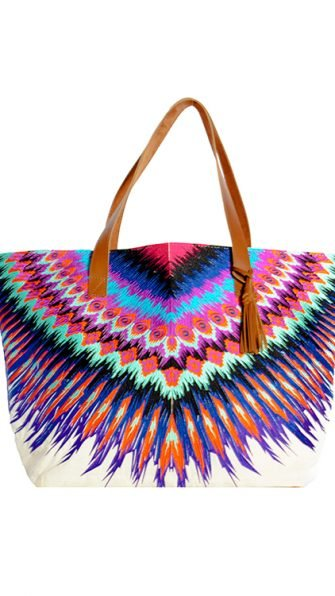 African Rays Tote