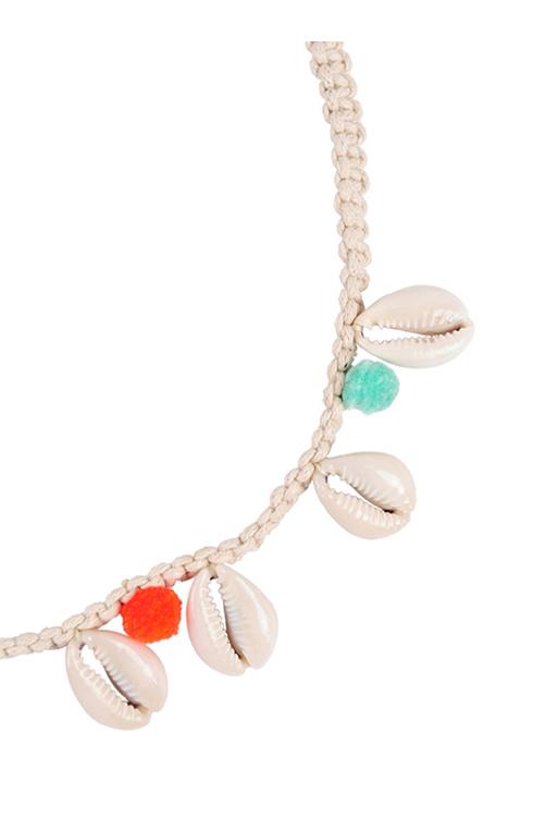 Ivory Buzios Necklace DETAIL