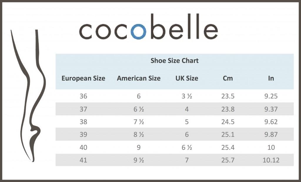 Cocobelle Conversion Chart