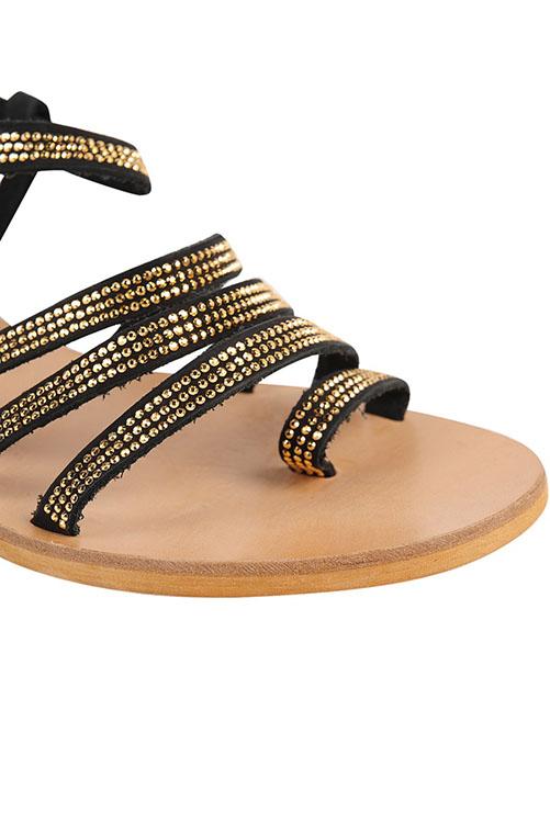 Sicily Sandal BLACK DETAIL