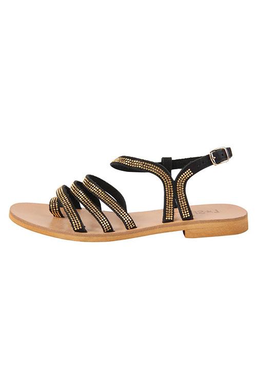 Sicily Sandal BLACK SIDE