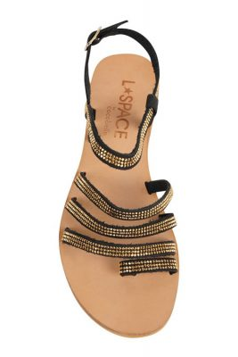 Sicily Sandal BLACK TOP