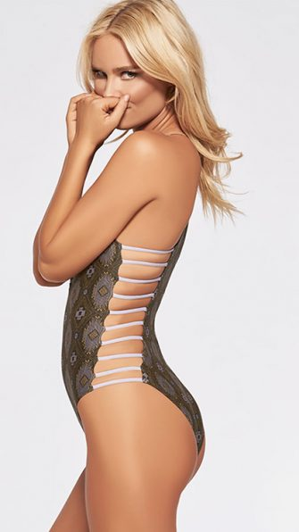 Caicos Nights Wild Side One Piece SIDE