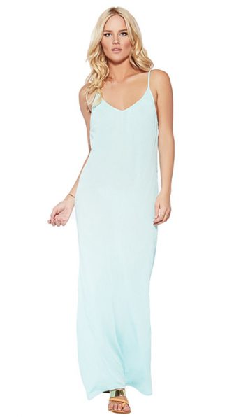 Sea Glass Moonlight Maxi Dress