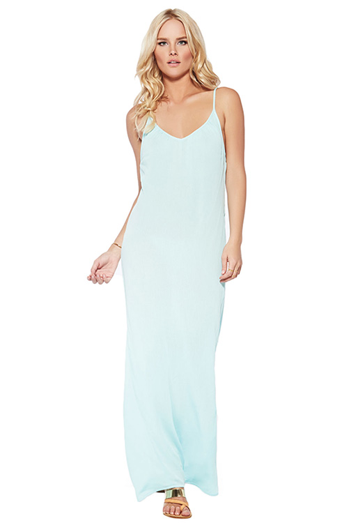 Sea Glass Moonlight Maxi Dress