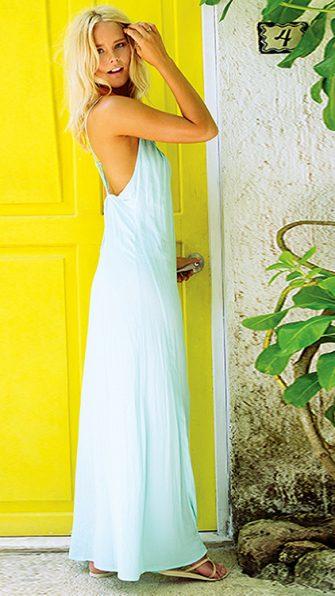 Sea Glass Moonlight Maxi Dress ALT