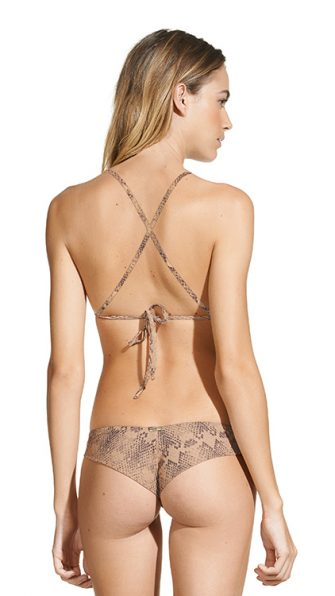 Skin High Neck Halter Bikini BACK