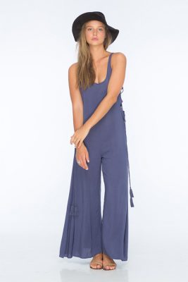 Denim Blue Wander Jumpsuit