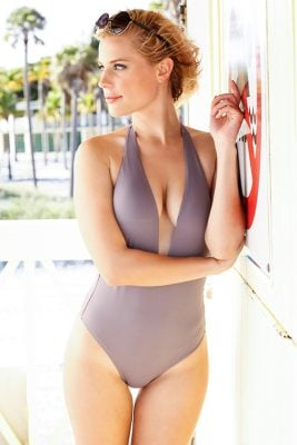 Pebble Flamingo One Piece