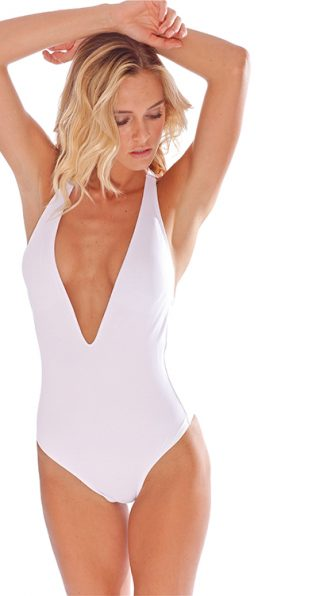 White Flamingo One Piece