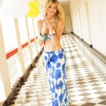 Blue Lagoon Long Skirt ALT
