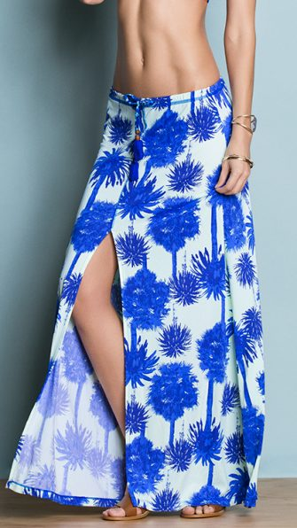 Blue Lagoon Long Skirt ALT2