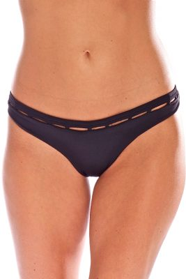 Solid Black Jade Bottom
