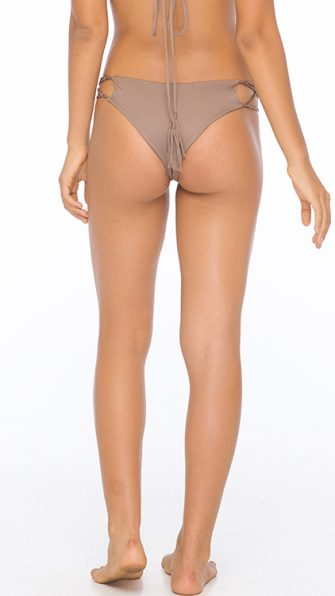 Mocha Sasa Criss Cross Bottom BACK